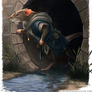 """Ratturi"" Creature Illustration, project TBA, 2020"