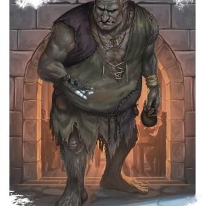 """Troll"" Creature Illustration, project TBA, 2020"